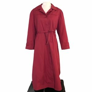 London Fog trench coat with removable lining